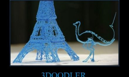První 3D tužka – zaveďte svou fantazii mimo stránku
