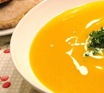 Snadná dýňová polévka