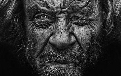 Neuvěřitelné portréty bezdomovců