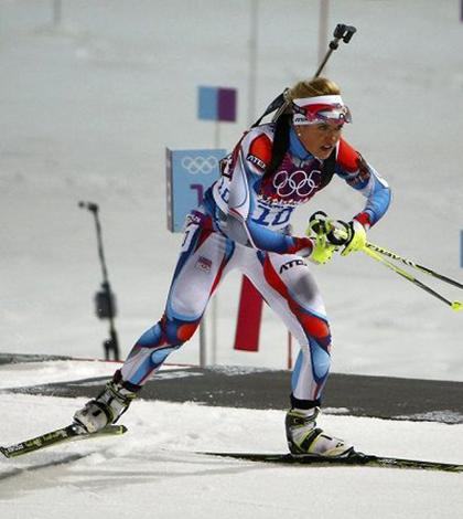 """České biatlonové """"žně"""""""
