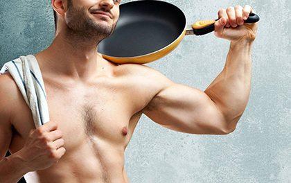 Muž v kuchyni – bez čeho se neobejde?