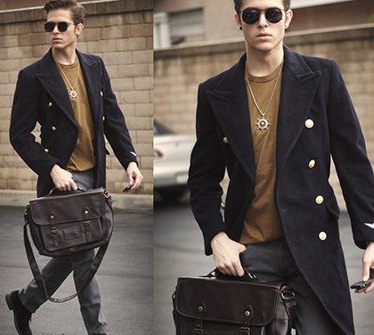Pánská taška přes rameno – co v ní muži nosí?