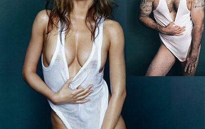 Parodie na sexy fotky Mirandy Kerr pro GQ