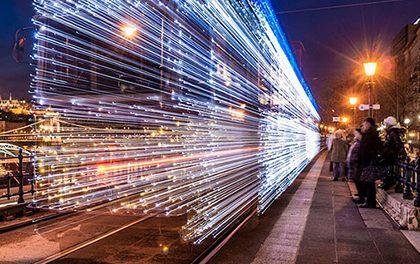 Tramvaje v Budapešti připomínají stroje času!