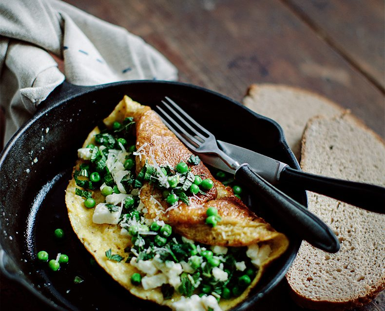 Zelená omeleta – Chuť, která vás dostane!