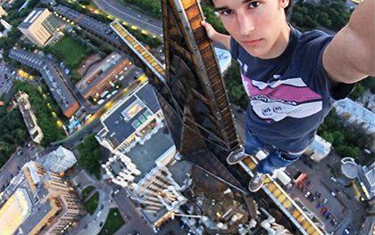 11 nejvíc extrémních selfie!
