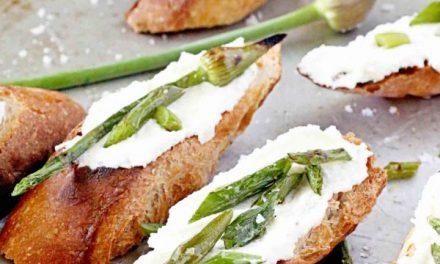 Topinky s česnekovou ricottou – Zaválíte s nimi před každou návštěvou!
