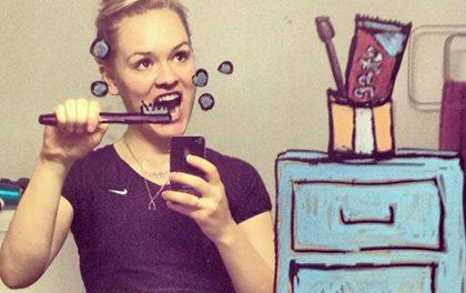 Vtipné a originální! Zrcadlové selfies trochu jinak!