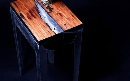 Kombinace, která vás učaruje! Dřevo a kov dá vašemu domovu styl!