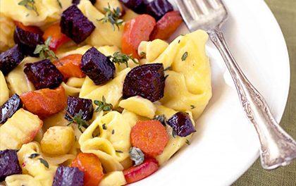 Rychlé tortelliny s kořenovou zeleninou! Zamilujete se po prvním ochutnání!