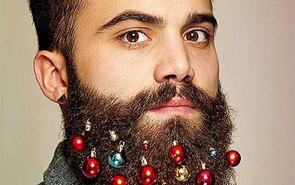 Jak ozdobit své vousy na Vánoce?