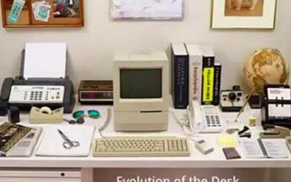 Jak se měnil pracovní stůl v průběhu posledních desítek let?