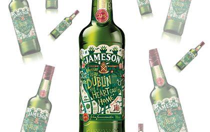 Jameson whiskey oslaví den sv. Patrika novým designem!