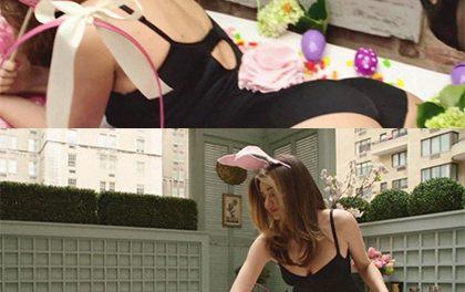 """Miranda Kerr vám jako sexy """"zajda"""" přeje veselé Velikonoce!"""