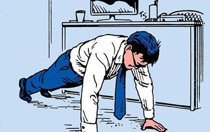 Kanclfit – Zkuste jednoduché cviky do kanceláře!