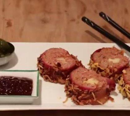 Nevíte, co jíst k hokeji? Masové sushi sklidí chválu vašich přátel