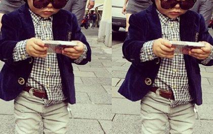 Co si myslíte o tom, když jsou děcka stylovější než většina dospělých?