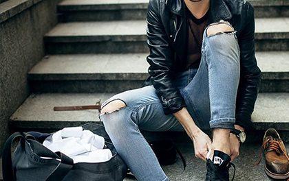 Trhané džíny – Unisex trend, který může nosit gentleman, dámička i swagger