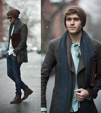 3 stylové kombinace, jak nosit pánské čepice? Pořádná dávka inspirace