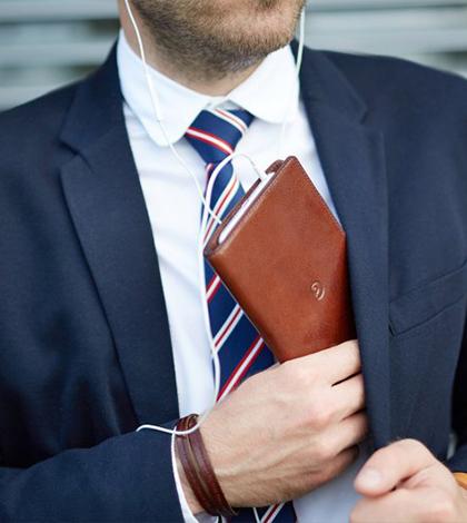 Kožená slim peněženka od Danny P. – Všechno pěkně po ruce