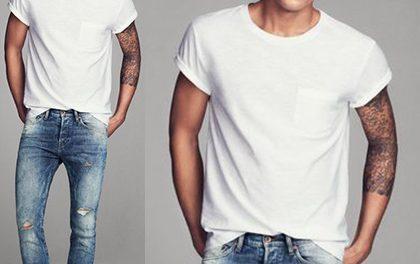 Pánské bílé triko – Možností, jak ho nosit, je nespočet!
