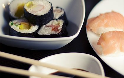 Sushi není jen oblíbená pochutina, ale i zajímavá kombinace zdraví prospěšných látek