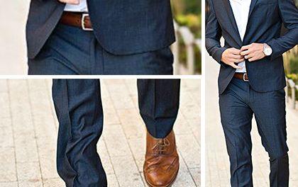 Jak ladit barvu obleku a bot? Přehledná infografika napoví