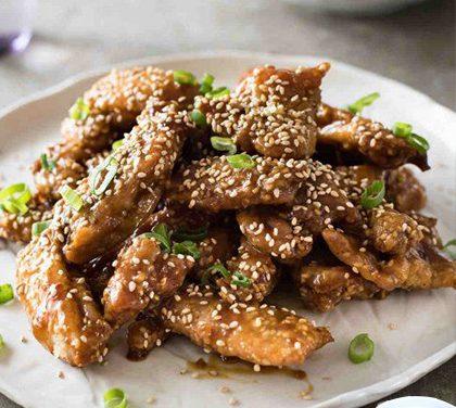 Zdravá a chutná večeře nebo pohoštění – Jedli jste už kuřecí stripsy s acai berry?