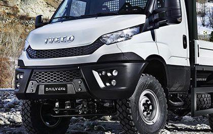 Iveco Daily 4×4 nejmenší nákladní vozidlo pro těžký terén