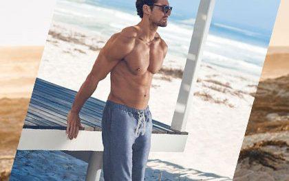 Léto se blíží! Mrkněte na letní trendy styl a vysekanou figuru Davida Gandyho!