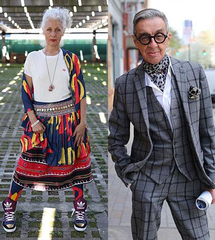 25 stylových seniorů dokazuje, že věk je opravdu jen číslo