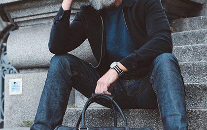 60 muž se stal hipsterským modelem poté, co si nechal narůst plnovous