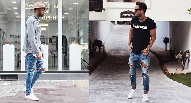 Na roztrhání! Jak nosit trhané džíny  Ochočte si trhané outfity ... 3dbc583c89
