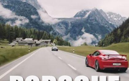 Dechberoucí kombinace! 9 modelů Porsche a silnice ve švýcarských a italských Alpách