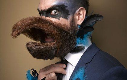 Extra výběr! Nejpodivnější kreace z letošní soutěže vousů a knírů
