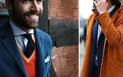 MEN'S ORANGE STYLE – Jak na oranžové outfity pro muže?