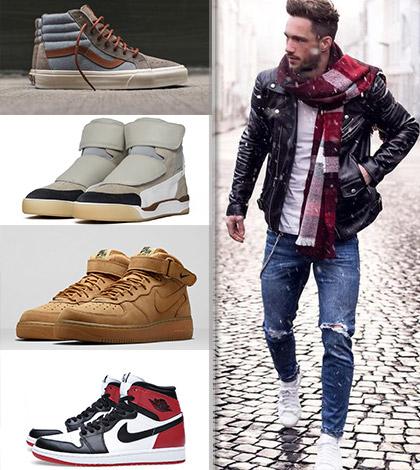 Vyteplené pánské botasky – To nejlepší, co můžete obout na podzim!