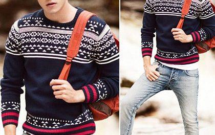 Tuhá zima si žádá tuhé řešení – Který pánský svetr obléknete tuto sezónu?