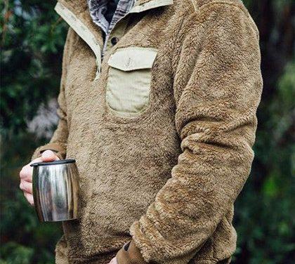 Jaký materiál vás udrží v teple? Fleece na pánské mikině