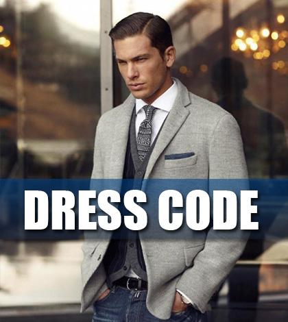 Pánský DRESS CODE – Jak se v něm vyznat?