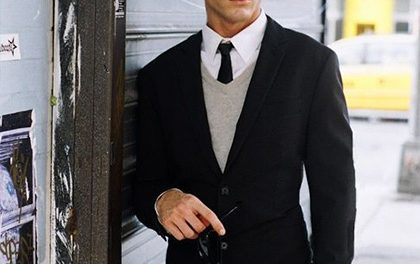 Únorové MUST HAVE pro muže – tentokrát elegantně, černobíle!