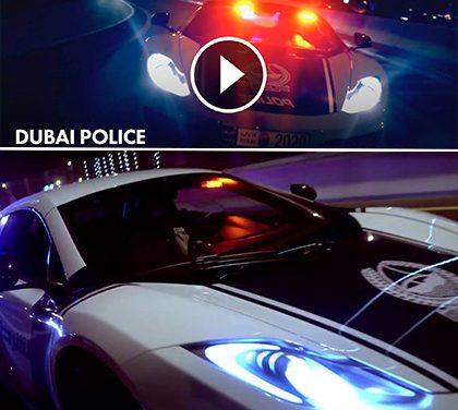 Nový Need for Speed? Ne, toto je promo video policejních aut dubajské policie!