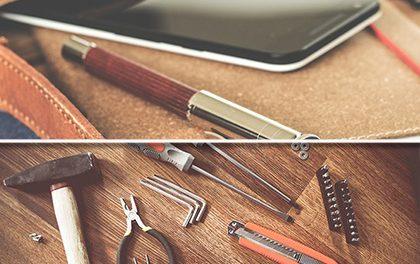 Moderní muž nemusí umět s kladivem aneb Jak chytře na opravy v domácnosti