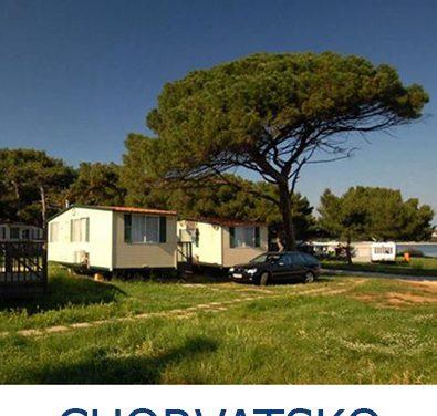 Mobilní domy a robinsonády v Chorvatsku