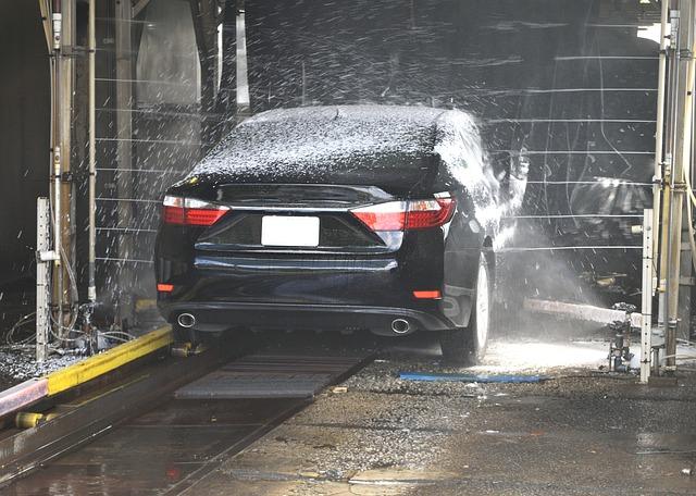 Chytrý muž ví, kde nechat umýt své auto