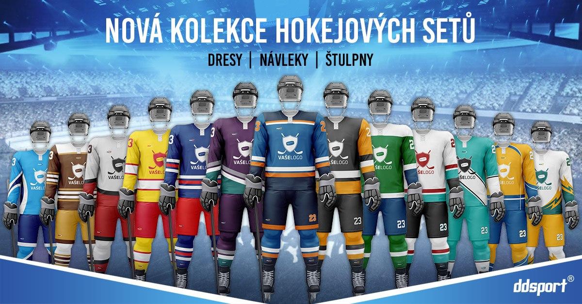 Hokejové dresy pro novou sezónu jsou tady