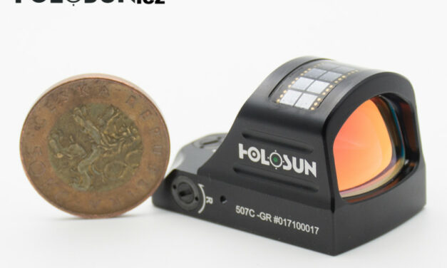 Zlepšete svou střelbu s kolimátorem. Vsaďte na Holosun HE508T