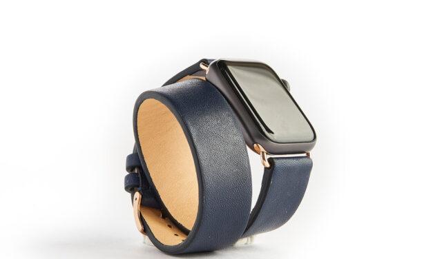 Brašnářství Tlustý představuje tip na vánoční dárek – ručně vyráběný dvojitý řemínek pro Apple Watch