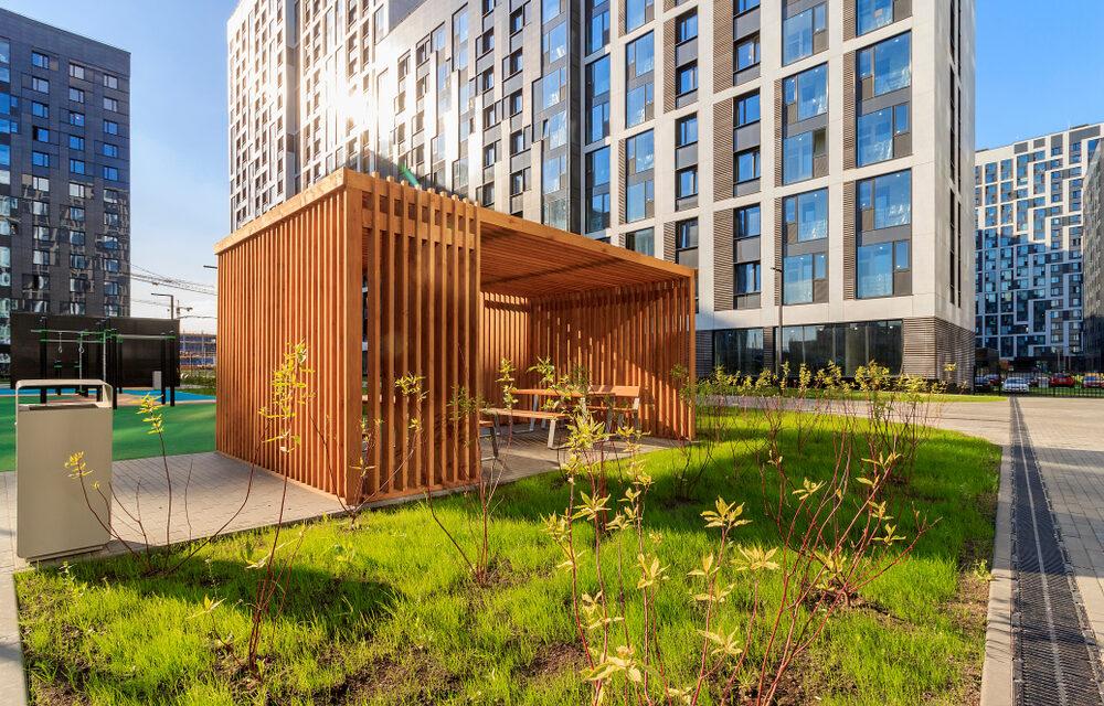 Jak vypadá taková moderní zahradní stavba?