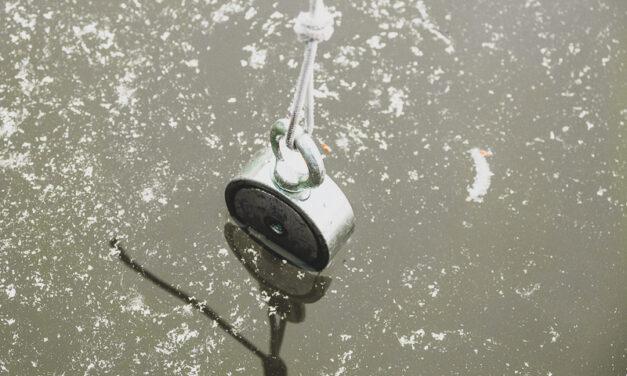 Magnet fishing a etika lovců pokladů. Co se sluší a patří?